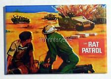 "Vintage THE RAT PATROL Lunchbox 2"" x 3"" Fridge MAGNET Art"