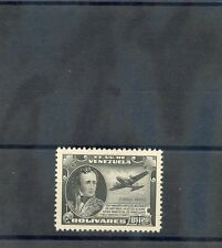 VENEZUELA Sc C214(MI 443)**VF NH 1945 1B20 BLACK, HI VALUE, $45