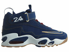 Nike Air Griffey Max 1 Prez QS Mens 853014-400 Coastal Blue Gold Shoes Size 11.5