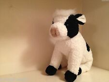 HTF *Jersey* ~ 1997 Ty Beanie Classic Cow ~Made in China~NHT!! Cute! WOW!!