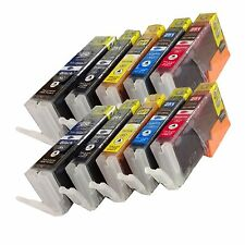 *10Pk New Canon  PGI-250XL CLI-251XL Compatible Ink  For Canon Pixma MX722 MX922