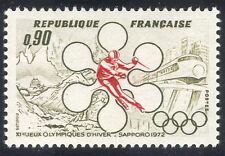France 1972 Olympics/Sport/Trains/Skiing/Rail 1v n28812