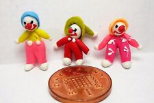 1:12th Hand Made Polymer Clay Clown A1 Dolls House Miniature Accessories
