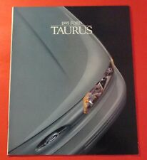 1995 FORD TAURUS SHOWROOM SALES BROCHURE..20 PAGES