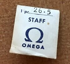 Vintage Omega watch 26.5 caliber balance staff rare early Omega watch part NOS