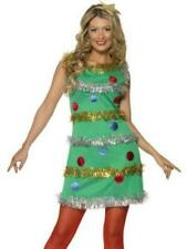 Womens Christmas Tree Dress Costume Adult Size Large