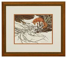 "Bev Doolittle ""Missed"" Signed & Numbered Limited Edition Matted Framed Art Print"