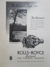 9/1946 PUB ROLLS-ROYCE DERWENT RIVER GLOSTER METEOR RAF WORLD SPEED RECORD AD