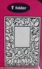 Crafts-Too/CTFD3051/C6/Embossing /Folder/Tulip Window Frame