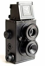 DE -  DIY Retro Recesky Twin Lens Reflex TLR Camera set as Holga Lomo Film 35mm