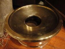 Brass Spittoon Welcraft Employee Retirement Gift 1963 Jim Huff Vintage