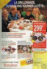 Publicité advertising 1988 La Grillonnade Terraillon