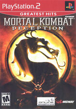 Mortal Kombat: Deception PS2 New