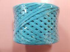 TURQUOISE BLUE Paper Craft Ribbon  RAFFIA  WRAPHIA 100 YD Roll Heavy Duty Art