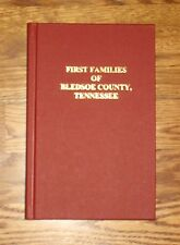 BLEDSOE COUNTY TN FIRST FAMILIES SEQUATCHIE TENNESSEE