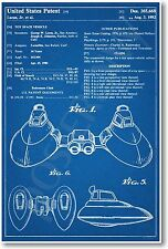 Star Wars 2 Pod Cloud Car Patent - NEW Invention Patent Art POSTER