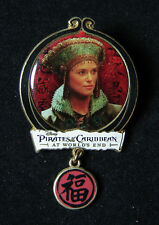 Elizabeth Swann Pirates of the Caribbean At World's End Disney Pin Dangle