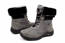 Ugg Womens Adirondack II Charcoal Color Snow Boots Size 11 US