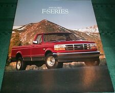 1995 Ford Pickup Truck Brochure F-150/F-250/F-350