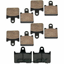 Front Rear Brake Pads For Kawasaki ZG1400 Concours 14 ABS 2008-2016