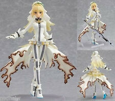 "Hot Anime Figma Fate Wedding Saber Lily PVC Action Figure 5.5"" CHN Ver. In Box"
