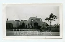 Vintage snapshot photo Triplex building Los Angeles County CA Atlantic Blvd #2