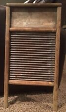 Vintage Antique Family Size National Washboard Co. No. 25 Washboard