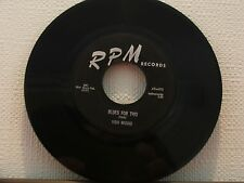"7""vinyl record by ""VIDO MUSSO""(VERY RARE) (Blues/jive) 1957,see spec. (K)."