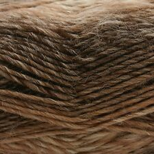 West Yorkshire Spinners Aire Valley Fusions 75% Wool Knitting Yarn Coffee& Cream