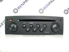 Renault Megane II / Scenic II / Clio III CD Player Tuner List Radio