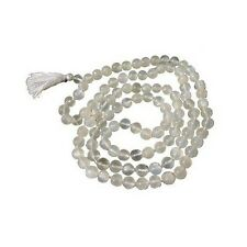 Prayer Mala Beads - Moon Stone  - 108 Prayer Beads