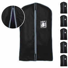 5x Breathable Zip Up Hanging Suit Dress Coat Garment Bag Clothes Cover Protector