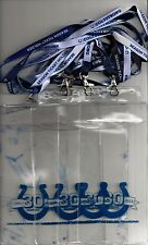 Set 4 Indianapolis Colts Coltstrong Lanyards/Ticket Holders Free USA Shipping