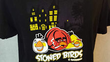 AMSTERDAM 'Stoned Birds' Funny T-Shirt Man's Size: L in VERY GOOD Condition