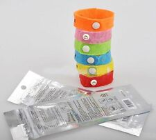 6 Natural Mosquito Repellent Wrist Bands/Bracelets~ANTI~No Deet~SAFE FOR KIDS!