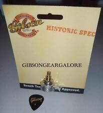 Gibson Les Paul Historic Pot 500k Audio Taper Short Shaft Guitar Parts R9 R7 R8