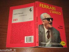 LIBRO/BOOK=ENZO FERRARI L'UNICO=THE DRAKE=GINO RANCATI=NADA EDITORI=1988