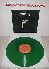 LP DAVID BOWIE - STATION TO STATION - GREEN - APL1 1327