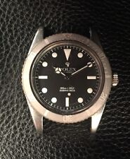 Rolex Submariner No Crown Guard 5508 Watch James Bond 1958 Butterfly Rotor Svcd