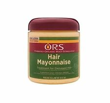Organic Root Stimulator Hair Mayonnaise Treatment Damaged Hair, 16 Ounce