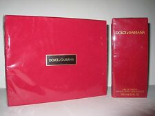 Vintage Dolce Gabbana Red EDT Perfume Soap Shower Gel Body Milk. Sealed. Lot