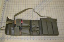 military vintage foreign boot kit w/ brushes custom case buttons thread