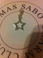 Thomas Sabo Sterling Silver 5 Point Open Star Charm Fully Hallmarked TS Ag925