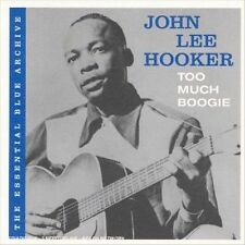 The Essential Blue Archive: Too Much Boogie by John Lee Hooker (CD, Jun-2006, SP