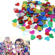 300pcs Multi-Color Sparkling Love Heart Wedding Party Confetti Table Decoration