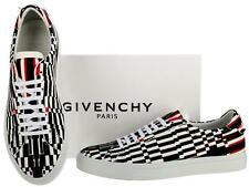 NEW GIVENCHY PARIS ST KNOTTS LAMB LEATHER LOW TOP CURRENT SNEAKERS SHOES 44/11