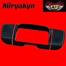 Kuryakyn Black Tri-Line Stereo Trims & Accents For '14-'17 Touring & Trike 7299