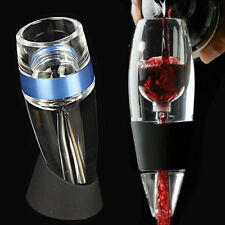 Magic Decanter Pour Spout Essential RED Wine Mini Quick Aerator Filter pouch Set