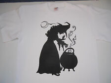 PAGAN   WITCH   NEW   MEDIUM   WHITE   T  SHIRT