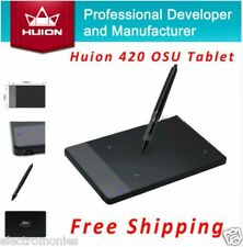 100%ORIGINAL HUION 420 Professional Signature Pen Digital Graphic Drawing Tablet